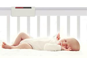 Панель температуры в кроватке