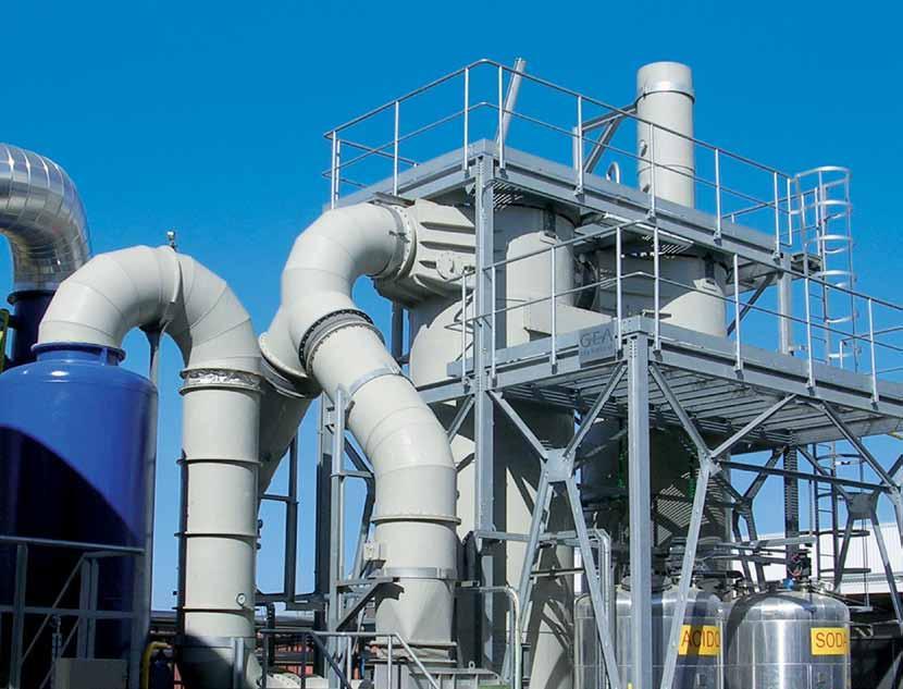 газоочистные установки (ГОУ)