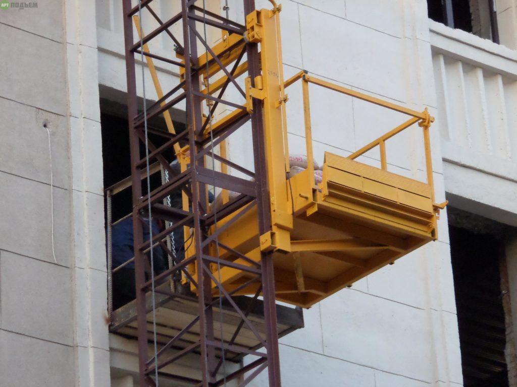 строительный подъемник