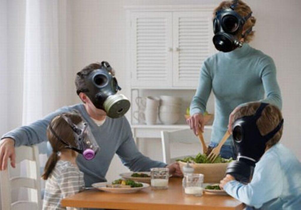 Загрязнение воздуха в помещениях