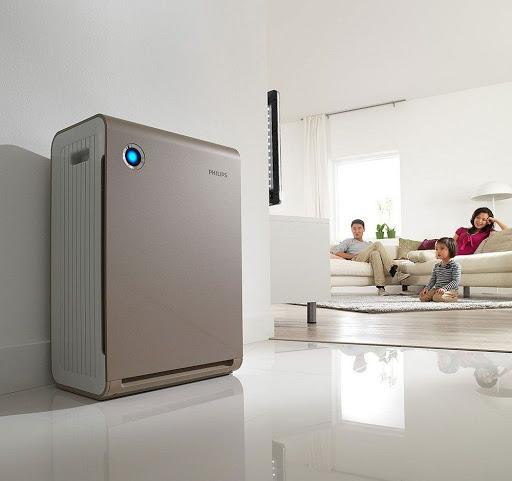 воздухоочиститель в помещении