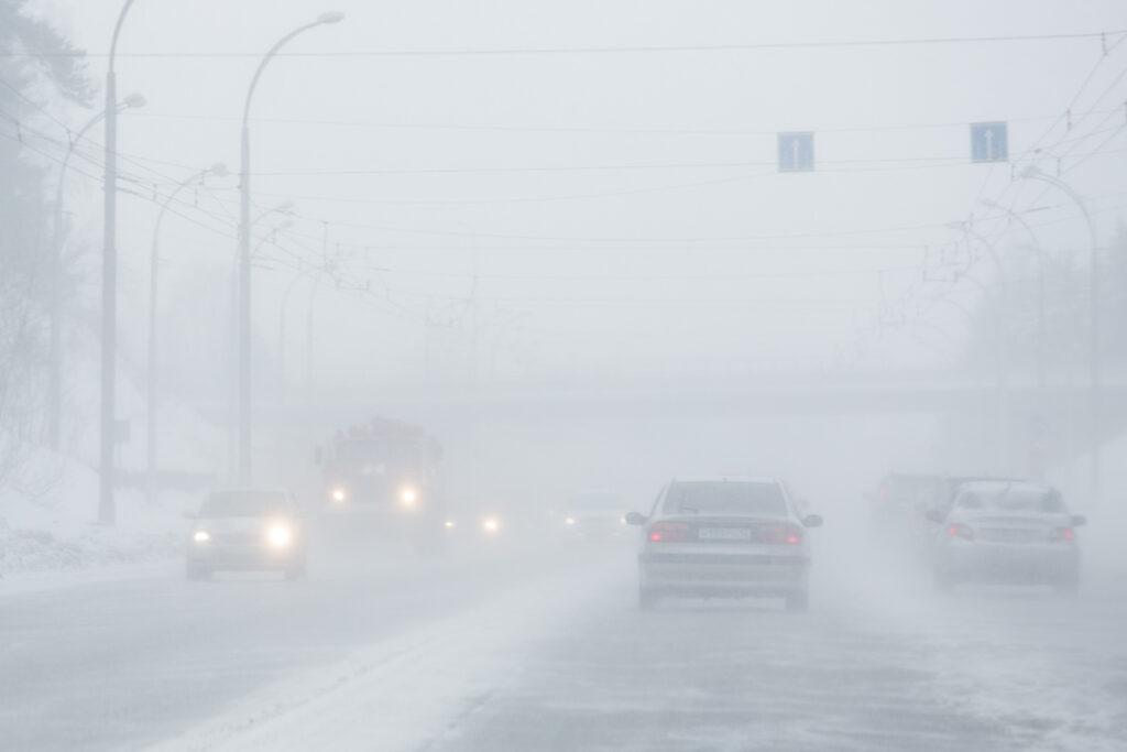 смог загрязнение воздуха