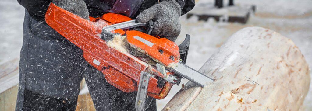подготовка вальщиков леса